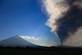 Volcano Pacaya erupting Royalty Free Stock Photo