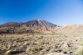 Volcano Teide and Garcia rocks (Los Roques de Garcia) Royalty Free Stock Photo