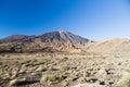 Volcano Teide and Garcia rocks (Los Roques de Garcia) Royalty Free Stock Photo