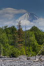 Volcano viluchinsky russia kamchatka landscape budkov denis Royalty Free Stock Photography