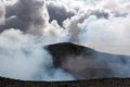 Volcano yasur eruption in vanuatu Stock Images