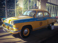 Volga gaz r on exhibition of soviet automobile industry vdnkh moscow Stock Photo