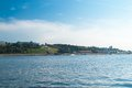 Volga river the at nizhny novgorod the is the longest in europe it is also europe s largest in terms of discharge and Royalty Free Stock Photography