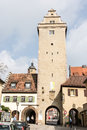 Volkach tower germany april oberes tor in germany on april s main tourist attraction is its annual wine festival Royalty Free Stock Photography