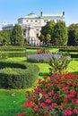 Volksgarten and Burgtheater in Inner Stadt Vienna, Austria Royalty Free Stock Photo
