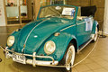 Volkswagen Beetle C, Vintage cars on display Stock Photo