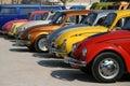 Volkswagen Beetle show Royalty Free Stock Photo