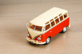 Volkswagen Camper toy Royalty Free Stock Photo