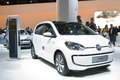 Volkswagen e up barcelona may at barcelona international motor show salon internacional del automovil is one of the five major Stock Photography