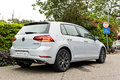 Volkswagen Golf GT 2017 Test Drive Day Royalty Free Stock Photo