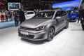 Volkswagen golf gtd variant geneva switzerland march presented on the th international geneva motor show Stock Photo