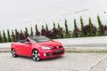Volkswagen golf gti kabrioletu model Fotografia Royalty Free