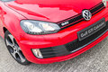 Volkswagen golf gti kabrioletu model Obraz Stock