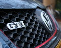 Volkswagen GTI logo Royalty Free Stock Photo