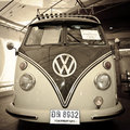 Volkswagen Micro Bus Type 2 Royalty Free Stock Photos