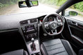 Volkswagen new golf gti model drive bay hot sportback car Stock Photo