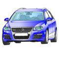 Volkswagen R36 Royalty Free Stock Photo