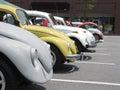 Volkswagen Row Royalty Free Stock Photo
