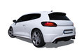 Volkswagen scirocco fast isolated on a white background Stock Images
