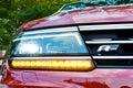 Volkswagen Tiguan R 2017 Head Light Royalty Free Stock Photo
