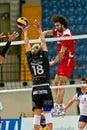 Volley milan italy april t beretta monza against f marretta corigliano in a m play off vero monza corigliano on Stock Images
