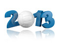 Volleyball 2013 design Royalty Free Stock Photography