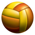 Volleyball ball Royalty Free Stock Photos