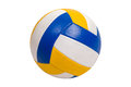 Volleyball Ball Isolated on White Background Royalty Free Stock Photo