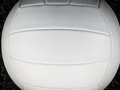 Volleyball closeup of white leather Stock Photo