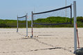 Volleyball Courts On The Beach