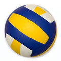 Volleyball isolated Royalty Free Stock Photo