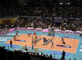 Volleyball - Piacenza vs Cuneo Royalty Free Stock Image
