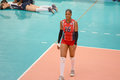 Volleyball yonkaira paola peña isabel dominican republic team at world grand prix preliminary round pools composition pool a i Royalty Free Stock Photos