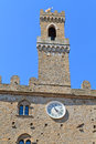 Volterra, Tuscany - Ancient City Hall Royalty Free Stock Photos