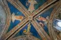 VOLTERRA, TUSCANY - MAY 21, 2017 - Church of Saint Francis, inte Royalty Free Stock Photo