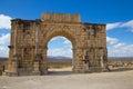 Volubilis Triumphal arch, Morocco Royalty Free Stock Photo