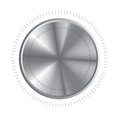 Volume control over white background vector illustration Royalty Free Stock Photography