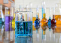 Volumetric Flask Royalty Free Stock Photo