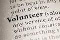 Volunteer Royalty Free Stock Photo
