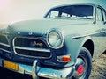 Volvo p b vintage car at tatoi greece retro cars circuit june Royalty Free Stock Photo