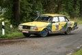 Volvo Rallye Car Royalty Free Stock Photos