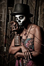 Voodoo priestess Royalty Free Stock Images