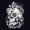 Voodoo Sugar Skull