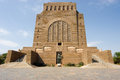 Voortrekker monument pretoria south africa the on hill in Royalty Free Stock Images