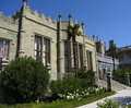 Vorontcosvkiy palace, Crimea Stock Photography