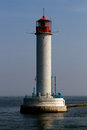 Vorontsovsky lighthouse in odessa ukraine Royalty Free Stock Photos