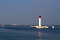 Vorontsovsky lighthouse in odessa ukraine Royalty Free Stock Photo