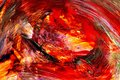 Vortex of fire Royalty Free Stock Photo