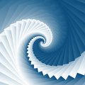 Vortex spiral ocean wave square geometry texture background Royalty Free Stock Photo