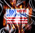 Vote 2012. Royalty Free Stock Photo